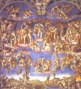 Cappella Sistina: Giudizio Universale
